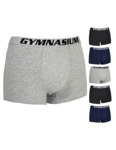 6 PEZZI Boxer Uomo Gymnasium 3/S-4/M-5/L-6/XL-7/XXL cotone elasticizzato GYMU01
