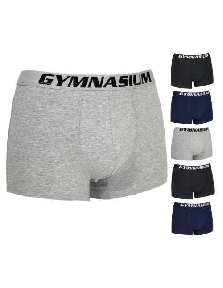 6 PIECES Boxer Man Gymnasium stretch cotton GYMU01